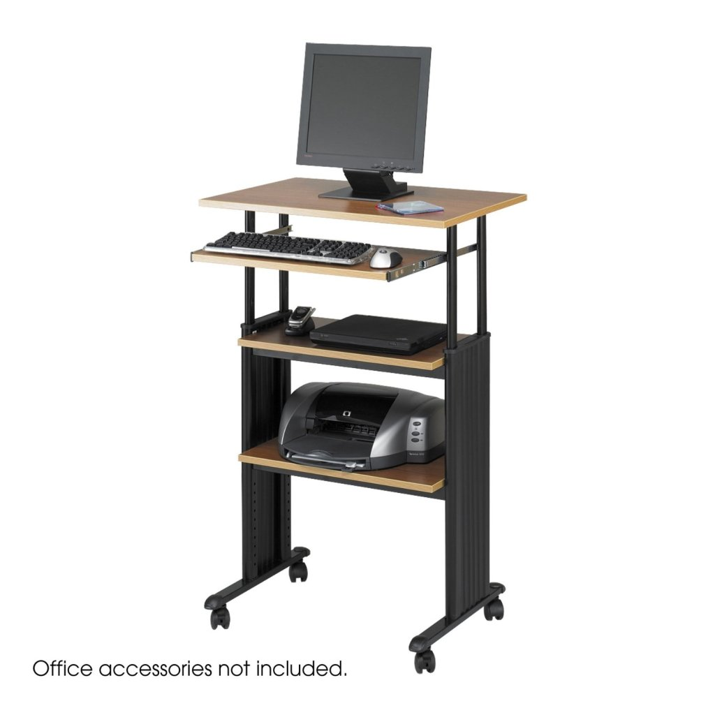 Stand Up Desk Safco Products Muv Stand Up Adjustable