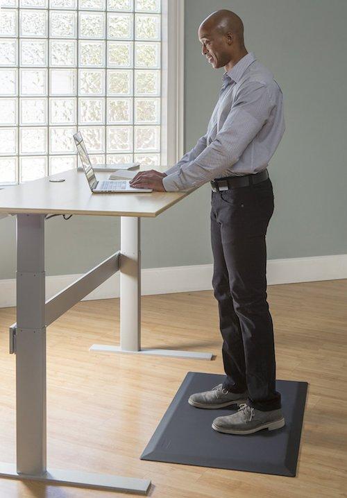 Tired Of Standing Try An Anti fatigue Mat Ergonomics Fix