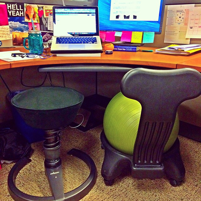 Swopper In Action Desk Chair Ergonomics Fix