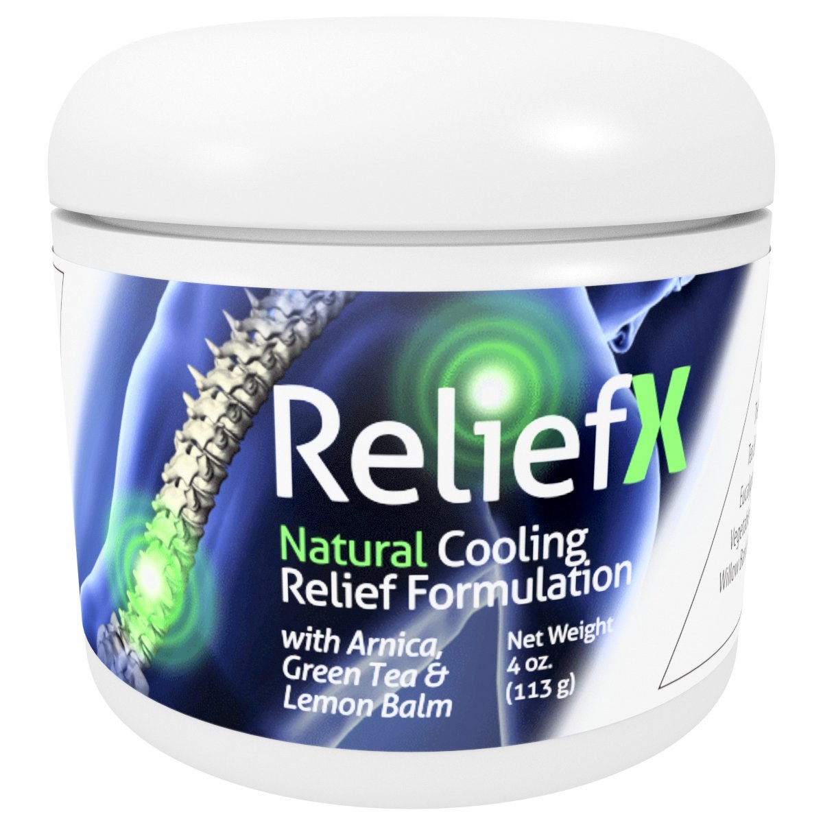Reliefx By Naturo Sciences Natural Topical Cream For