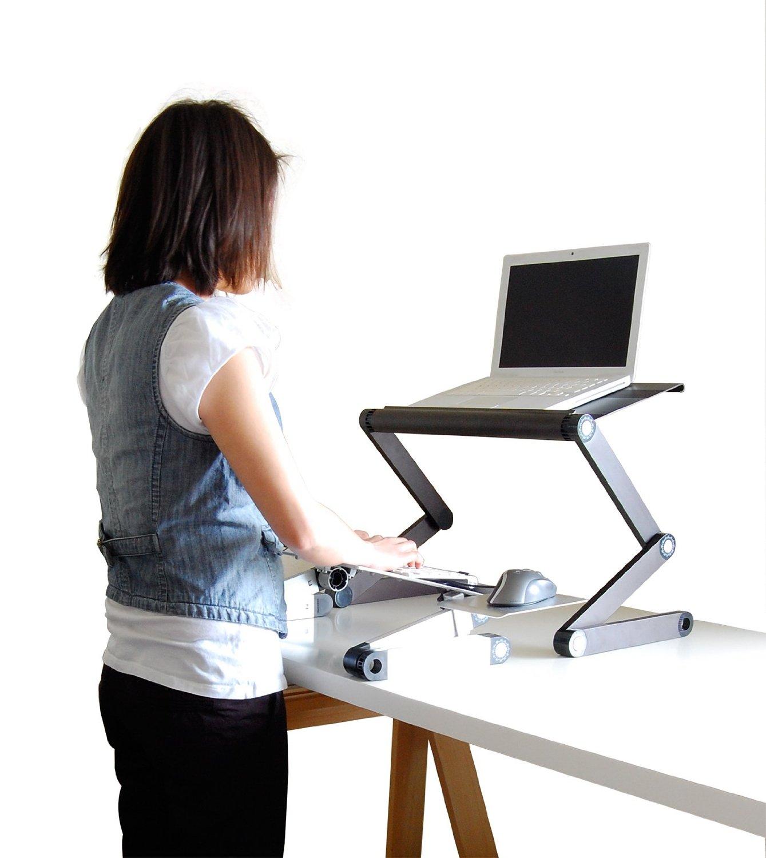 Uncaged Work Ez Standing Desk Converion Kit Ergonomics Fix