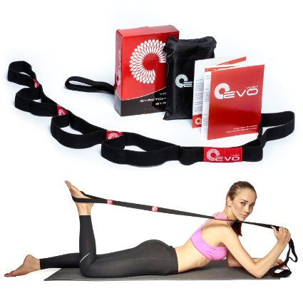 Help Sore Muscles With Yoga EVO Premium Stretching Strap