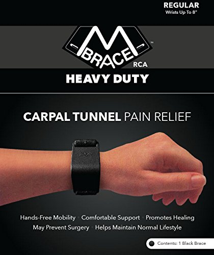 Carpal Tunnel Pain Relief With The M Brace Rca Heavy Duty