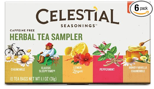 gift ideas for people with headaches Celestial Seasonings Herbal