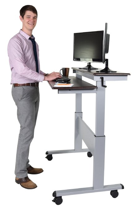 8 Best Height Adjustable Standing Desks Ergonomics Fix